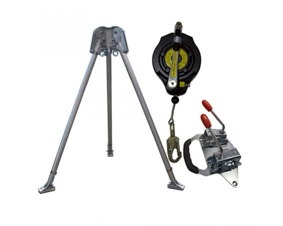 Abtech Safety Confined Space Kit with 15m Fall Arrest Winch CST1KIT