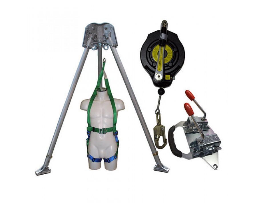 Abtech Safety Confined Space Kit with 15m Fall Arrest Winch CST2KIT