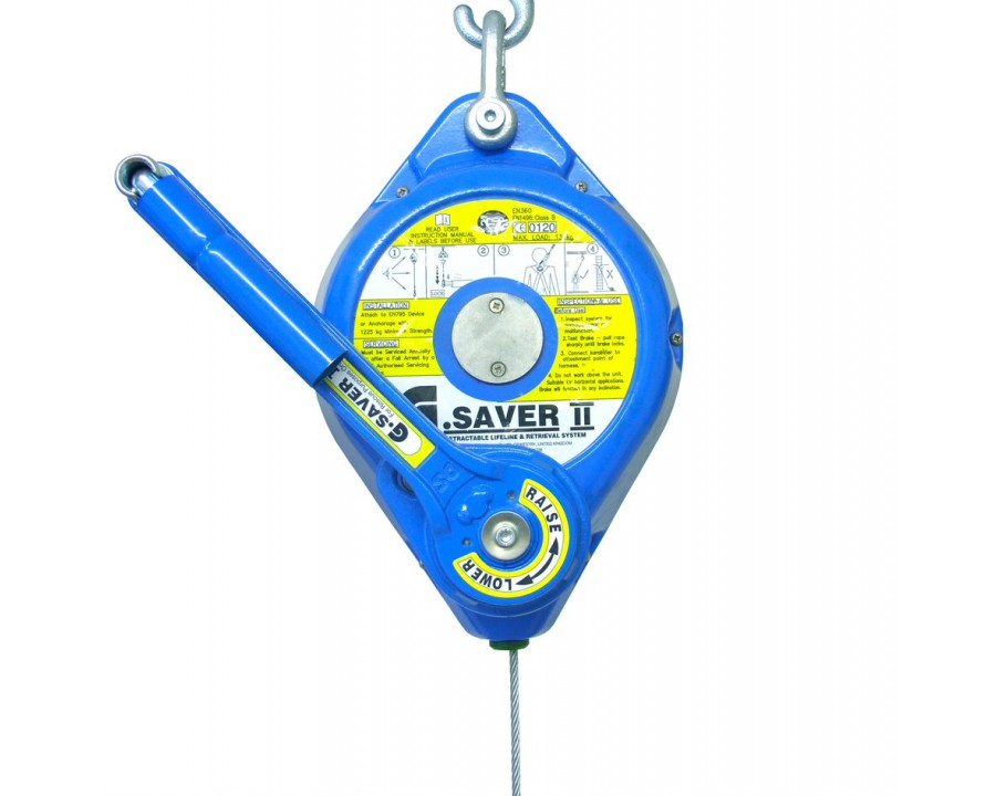Globestock G.Saver II Fall Arrester & Rescue Winch - GSE407-434