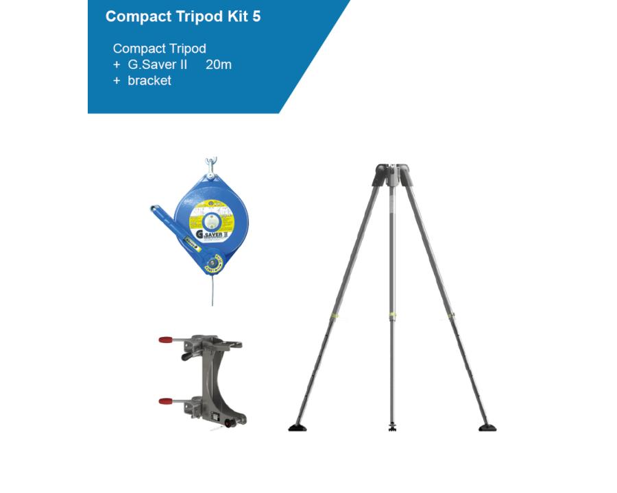 Globestock COMPACT TRIPOD KIT 5 20m