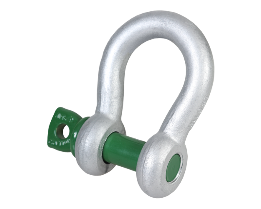 Green Pin® Bow Shackle SC