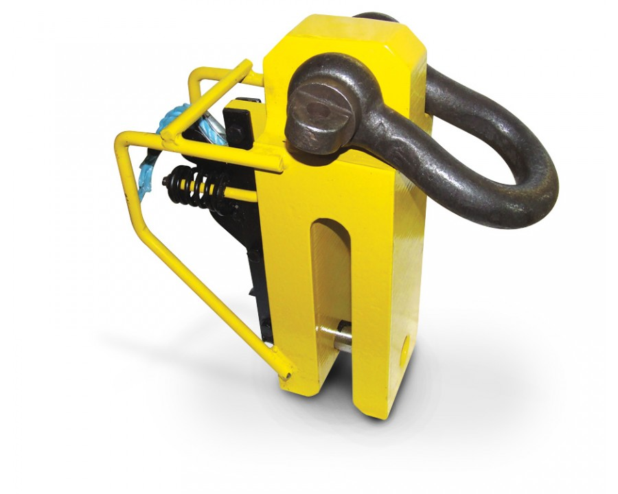 CP pile pitching clamps