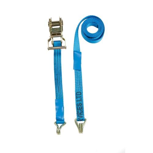 25mm Ratchet Straps - F/W Claw Hooks - MBS 1.4 Tonne