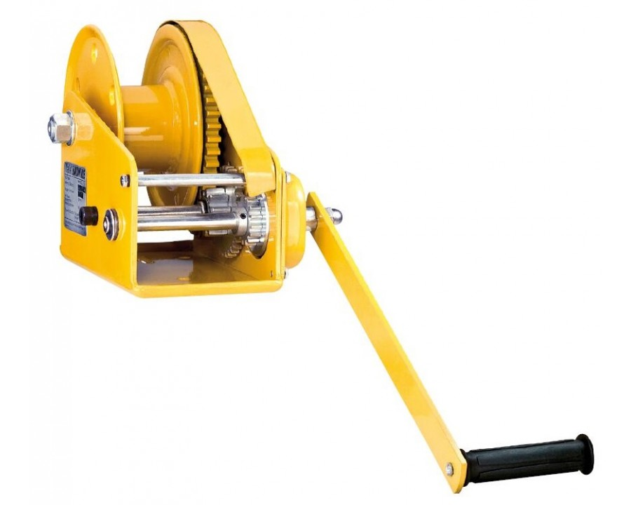 HW-CS Spur Gear Drive Manual Wire Rope Winches