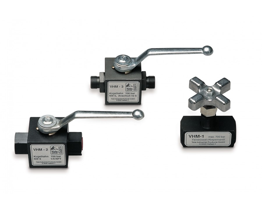 VHM Throttle / Shut off valves