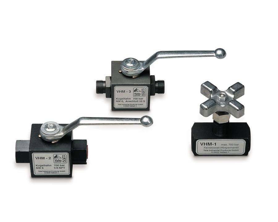 VHM Throttle / Shut off valves