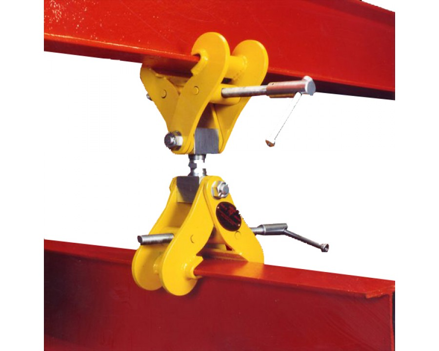 Adjustable Double Ended Monorail Construction Clamps