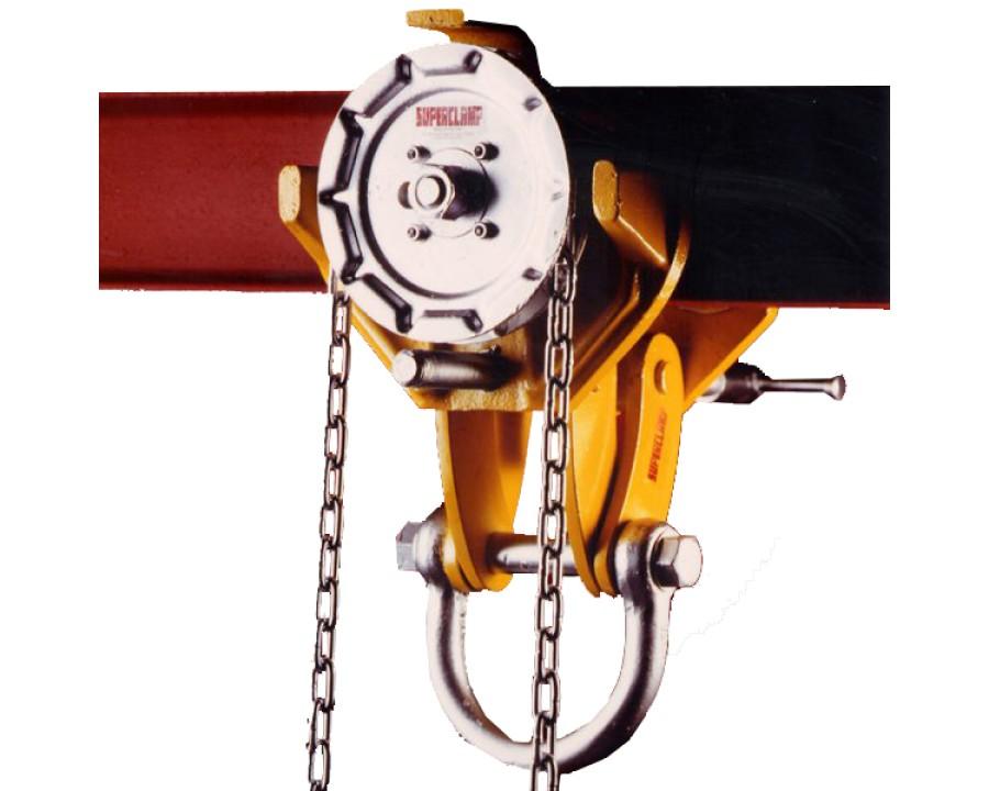 Adjustable Geared Runway Beam Trolleys