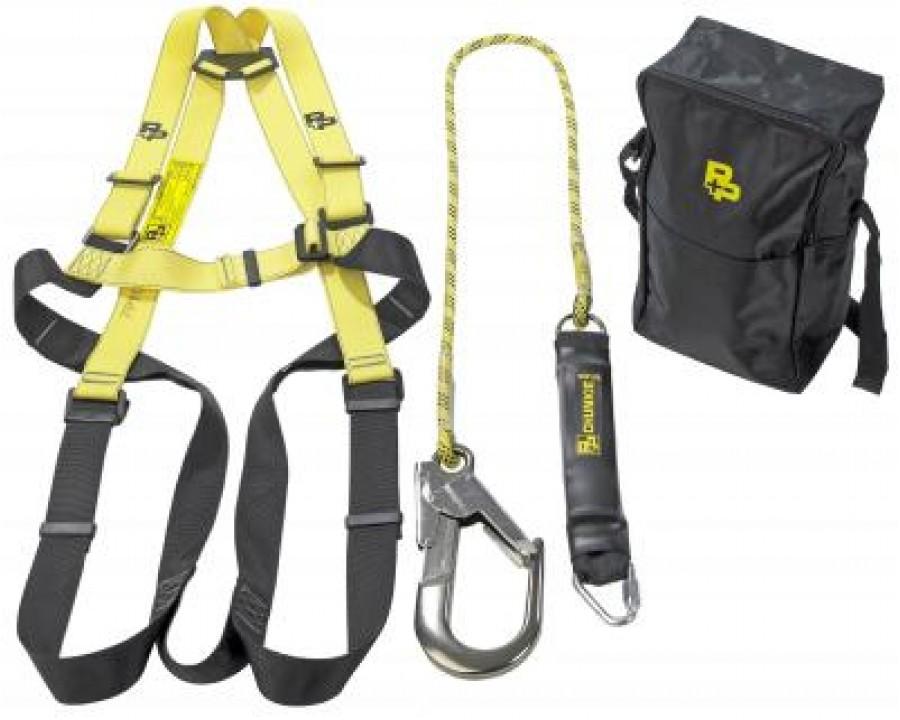 P+P Fall Arrest Harness & Lanyard Kit #90250MK2