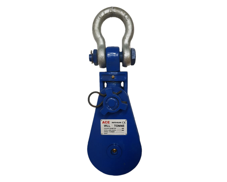 Snatch Block F/W Shackle