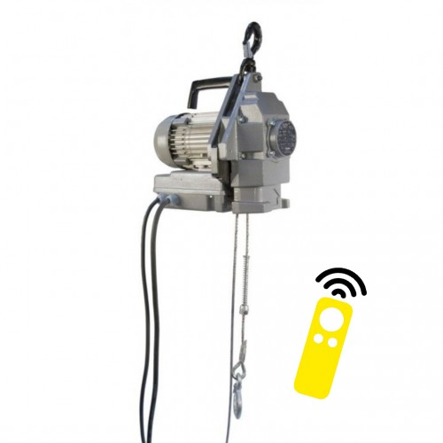 Minifor TR Series Electric Wire Rope Hoists with Radio Remote Control