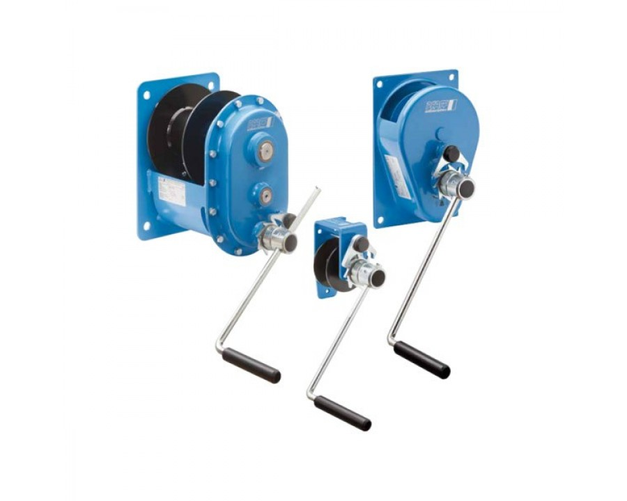 MWS Spur Gear Drive Manual Wire Rope Winches