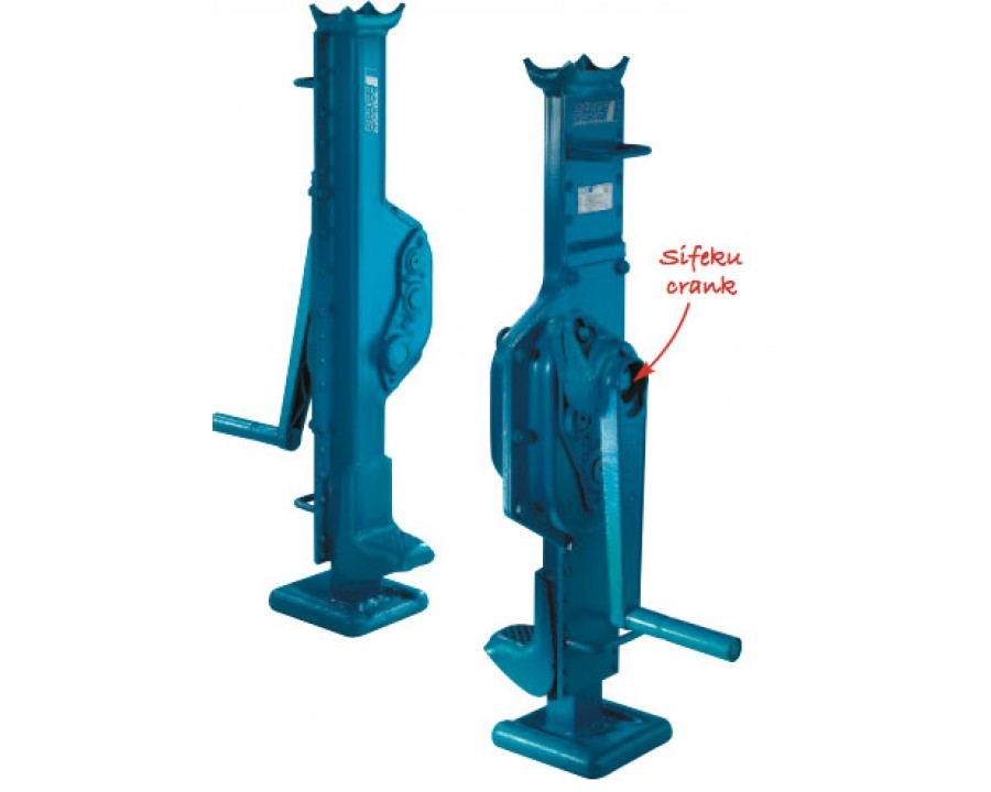 STW-F Proline Steel Jacks (Fixed Claw)