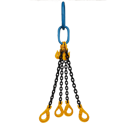 Yoke Grade 8 10mm Four Leg 6.7 Tonne Chain Sling