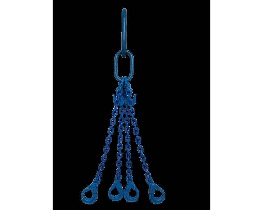 Yoke Grade 10 6mm Four Leg 2.9 Tonne Chain Sling