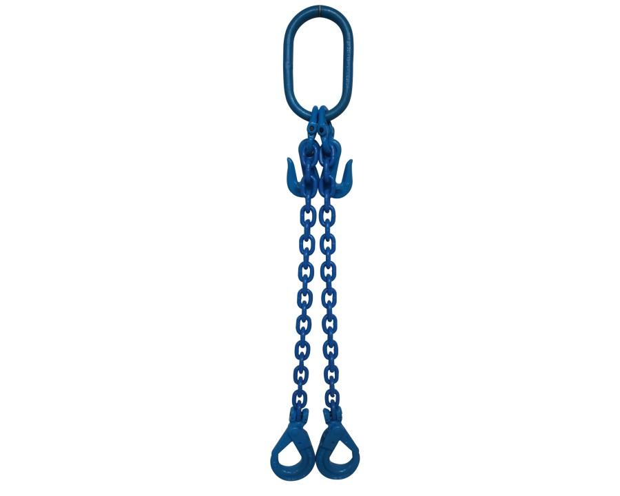Yoke Grade 10 8mm Double Leg 3.5 Tonne Chain Sling