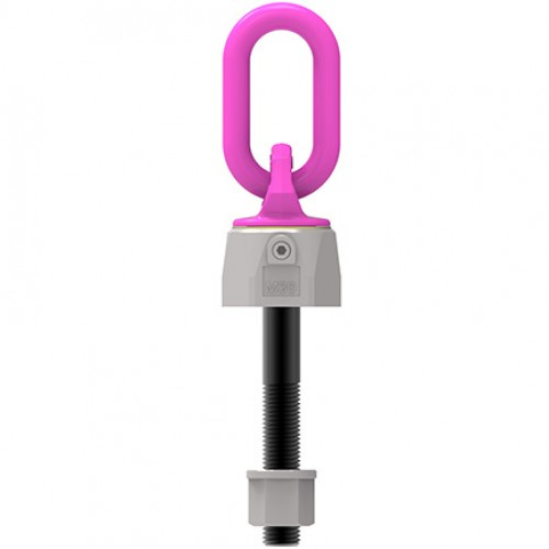 VWBG-V Load ring, metric thread with max. length, comes with locknut and washer