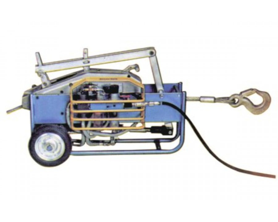 TIRFOR® TU-A series pneumatic wire rope hoists