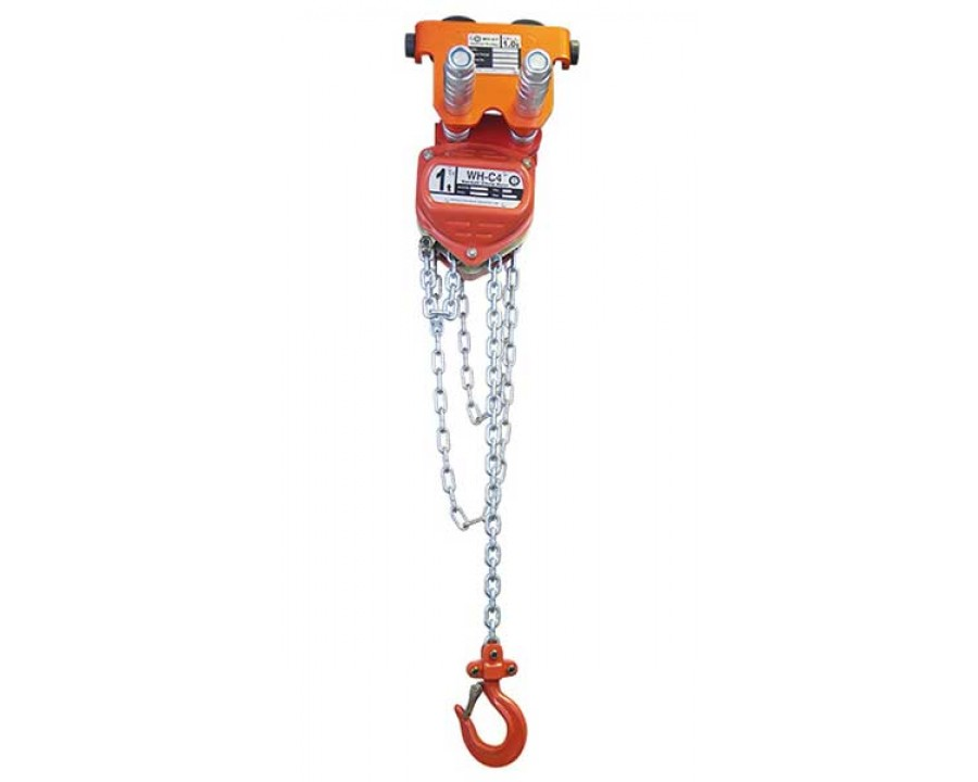 Combined Chain Hoist and Push Travel Trolley  500Kg to 5 Tonnes