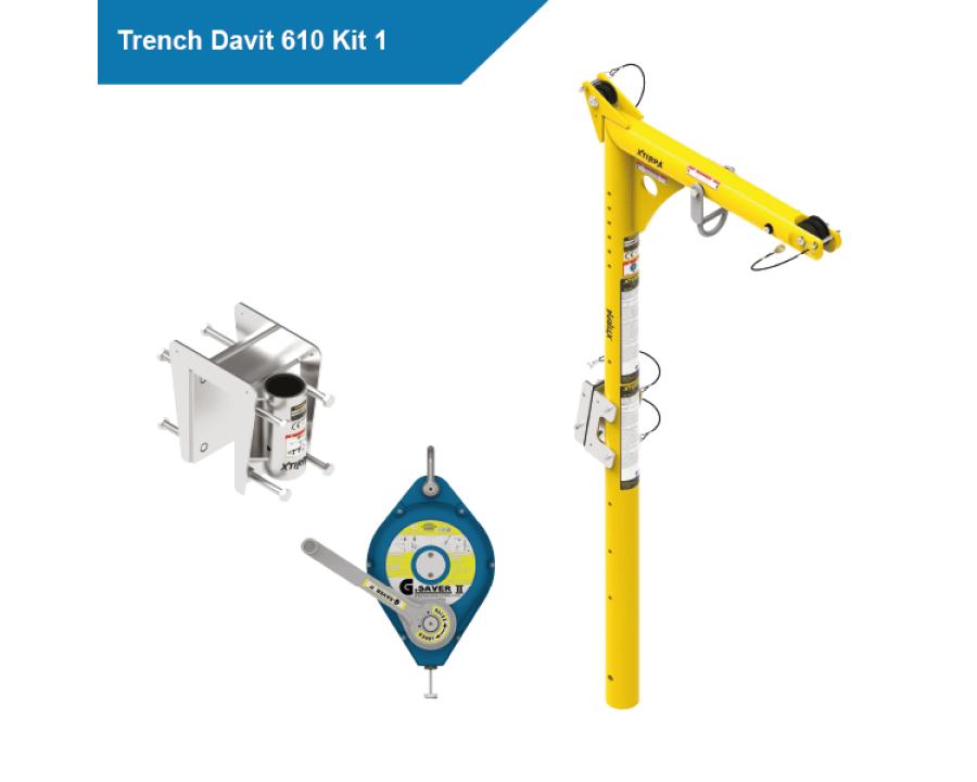 Globestock - XTIRPA Trench Davit 610 Kits
