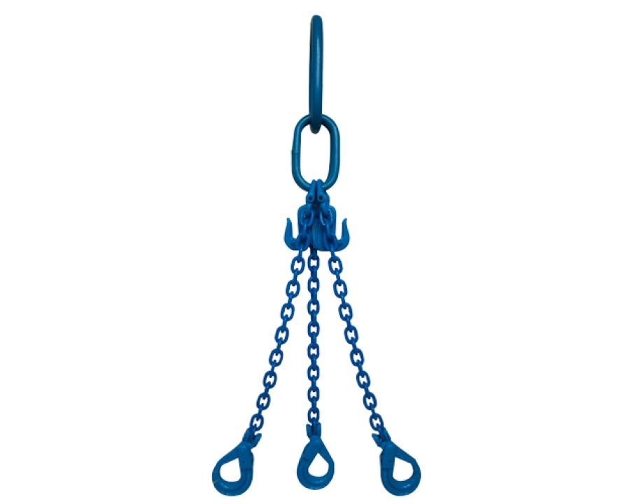 Yoke Grade 10 6mm Three Leg 2.9 Tonne Chain Sling