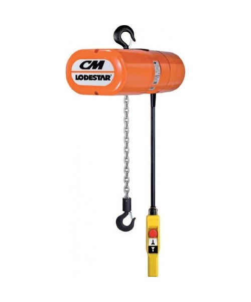 CM Lodestar Electric Chain Hoist - Hook Suspension