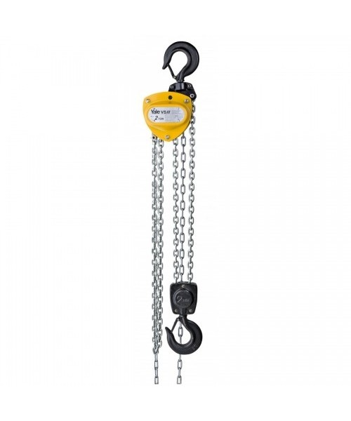 YALE VSIII 'Medium Duty' Hand Chain Hoists | 250Kg - 10 Tonnes