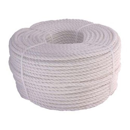 Polypropylene Rope 3/Strand White Staple (220mt Coils/Cut)